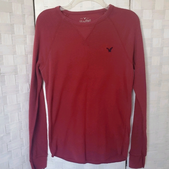 American Eagle mens Sz S L/S thermal shirt